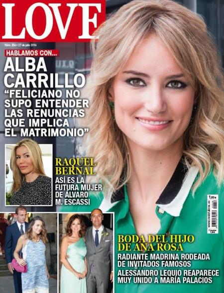 Y más Alba Carrillo