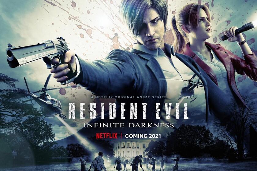 'Resident Evil: Oscuridad infinita' tiene nuevo tráiler: Netflix caldea la prometedora llegada de su anime basado en la saga de...