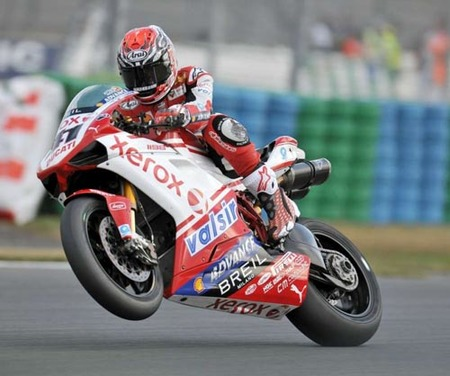Magny-Cours Spies 1-1 Haga