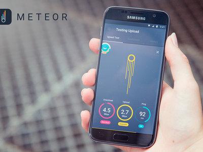 Meteor, la nueva app de test de velocidad de Open Signal