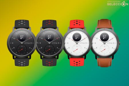 El smartwatch híbrido Withings Steel HR Sport con GPS, medición VO2 y 25 días de batería está a su mínimo en Amazon: 119,92 euros