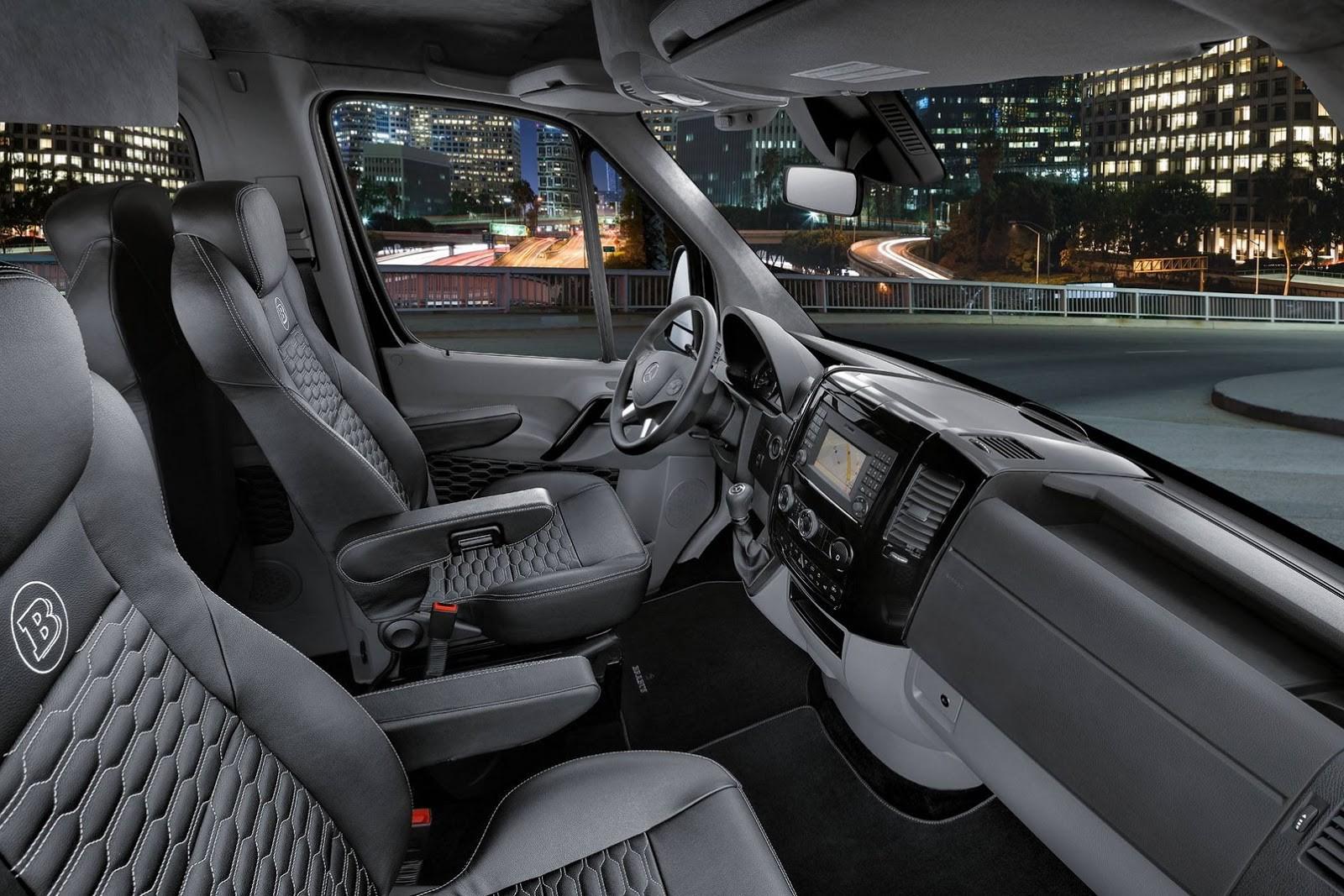 Brabus Mercedes-Benz Sprinter Conference Lounge