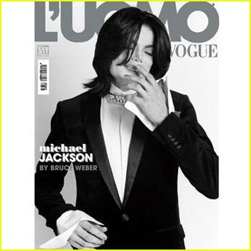 Michael Jackson en L'Uomo Vogue