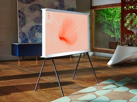 Tv The Serif Qled 108 Cm 43 22 Samsung Qe43ls01t Con Inteligencia Artificial 4k Hdr 10 Y Smart Tv