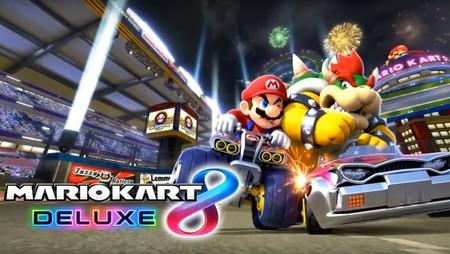 Así luce una partida online de Mario Kart 8 Deluxe usando el punto de acceso de un smartphone