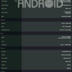 Foto 1 de 9 de la galería benchmark-hannspree-hannspad-sn1at71 en Xataka Android