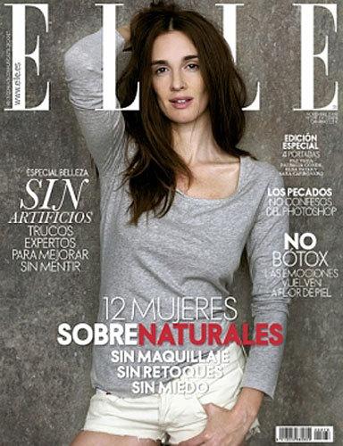 Foto de Elsa Pataky, Patricia Conde, Paz Vega y Sara Carbonero naturales en la portada de Elle España (3/4)