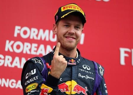 Red Bull le pidió a Sebastian Vettel que no volviera a mostrar su dedo