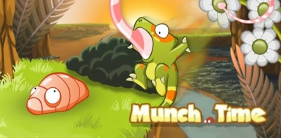 Munch Time, un juego protagonizado por un simpático camaleón con mucha hambre