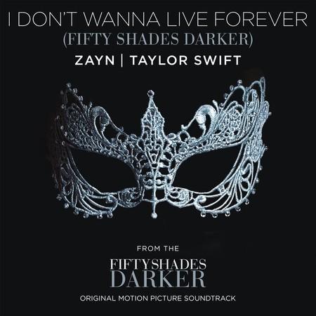 Taylor Swift y Zayn Malik ponen la música de 'Cincuenta sombras más Oscuras'