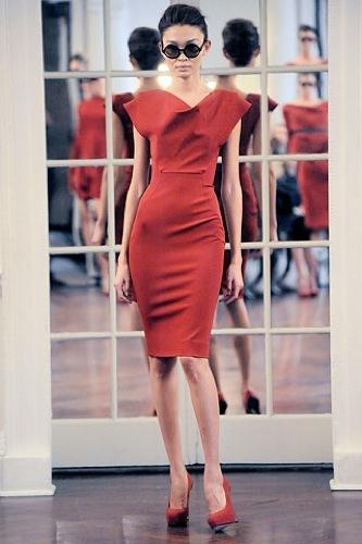 Victoria Beckham, Otoño-Invierno 2010/2011 en la Semana de la Moda de Nueva York III