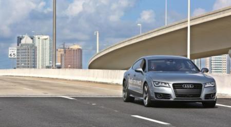 Audi saca a pasear a su A7 con piloto automático