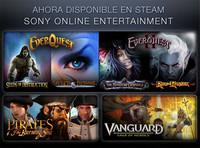 Los juegos de Sony Online Entertainment también llegan a Steam