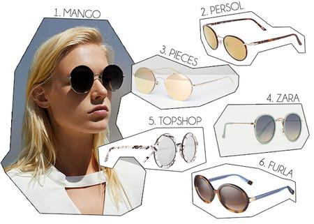 Gafas Sol Redondas 1