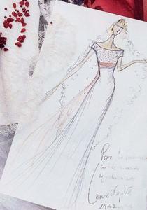Lorenzo Caprile, historia de un vestido de novia de lujo