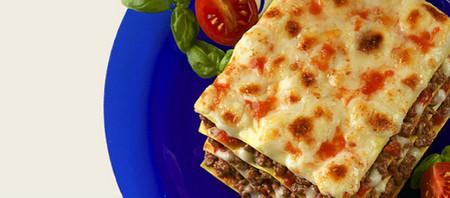 Lasagne a la boloñesa