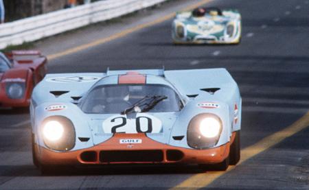 Porsche 917 Gulf - Le Mans