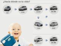 Hyundai permitirá a los nuevos padres cambiar a un modelo superior sin apenas coste