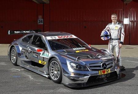 David Coulthard seguirá en 2012 con Mercedes-Benz en el DTM