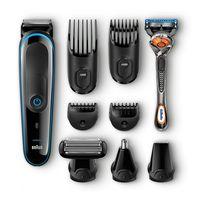 El set de afeitadora y recortadora 9 en 1 Braun MGK 3080 está por sólo 40,76 euros en Amazon