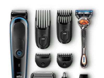 Oferta Flash: ser de afeitadora y recortadora 9 en 1 Braun MGK 3080 por sólo 35,50 euros en Amazon
