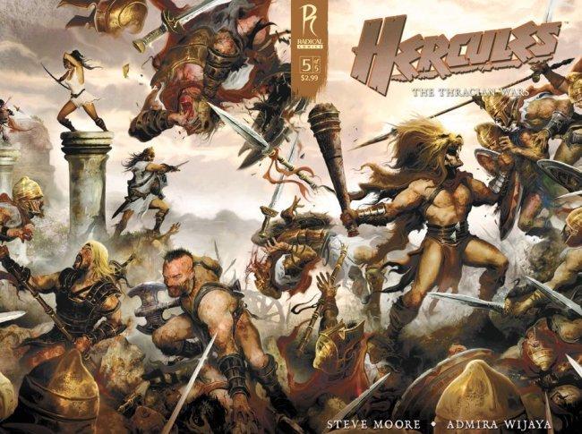 El cómic de Hércules en el que se basará la película