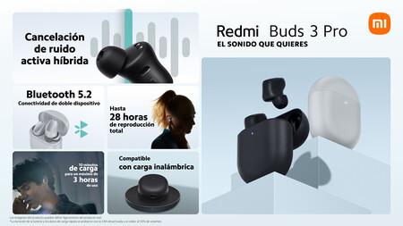 Xiaomi Redmi Buds 3 Pro Caracteristicas Ficha Tecnica