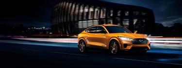 El Ford Mustang Mach-E GT 2021 se vestirá con el nostálgico color Cyber Orange