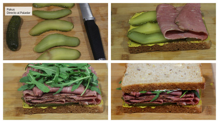 Sandwich Pastrami Pasos