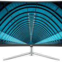 AOC presenta nuevo monitor Full HD, es el C32V1Q y llega con 32 pulgadas y diseño curvo