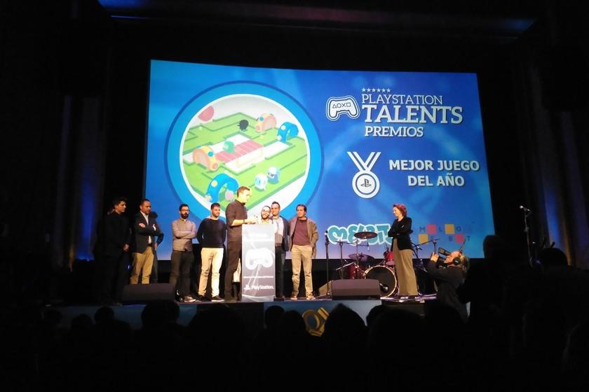 Melbits es elegido el mejor videojuego de 2017 en los Premios PlayStation  Talents