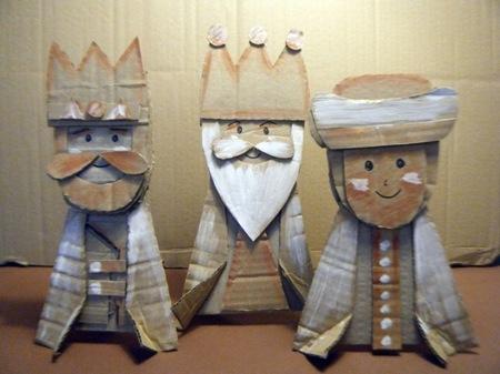 Hazlo tú mismo: Reyes Magos de cartón