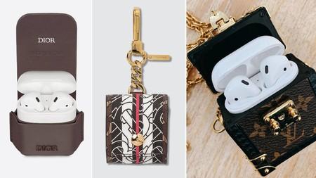 Louis Vuitton, Dior, Burberry... Las firmas de moda crean (e inspiran) las fundas para guardar los AirPods más lujosas