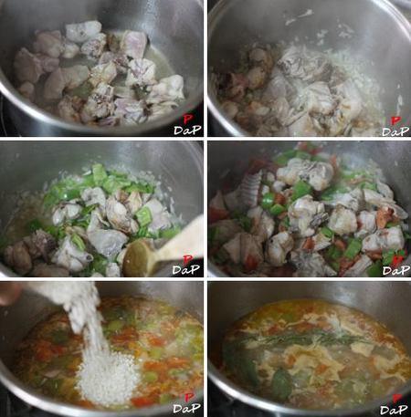 Hacer arroz caldoso