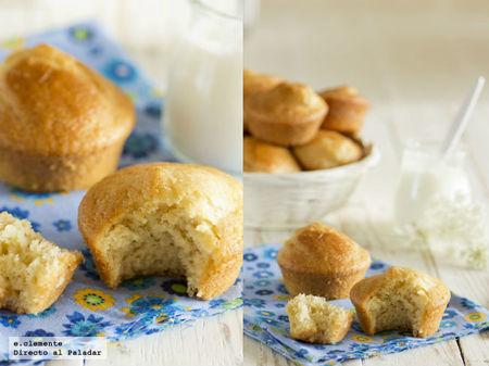 Muffins de yogur y limón. Receta