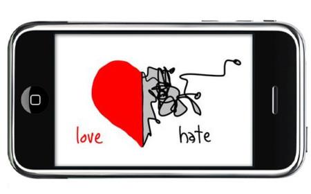 iPhone, una relación amor-odio