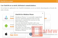 Samsung ChatON camino de otros fabricantes Windows Phone