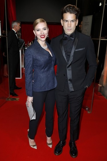 ¡Toma ya! Scarlett Johansson espera su primer hijo