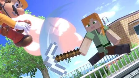Super Smash Bros Ultimate Minecraft 02