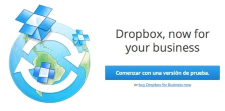Dropbox afina su solución para empresas con Dropbox for Business