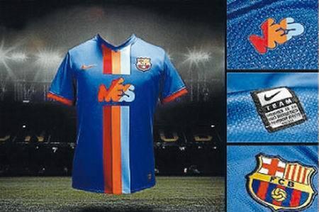 El Barcelona lucirá una exclusiva camiseta en el Gamper