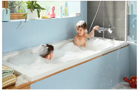 Showerpipe Croma E - Ecostat E de hansgrohe