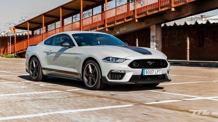 Ford Mustang Mach 1 2021 Prueba 030