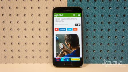 Samsung enseña a través de un benchmark un smartphone con pantalla 1440p