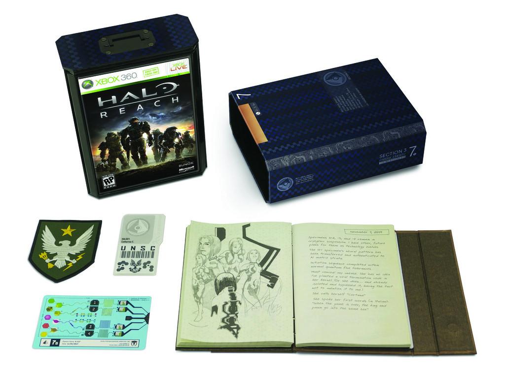 Foto de 'Halo: Reach' edición limitada y  legendaria (1/5)