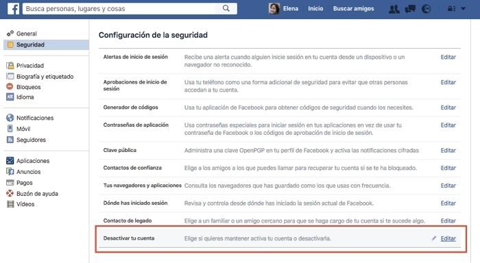 Cómo eliminar todas tus cuentas de redes sociales