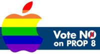 Apple se posiciona abiertamente a favor del matrimonio gay