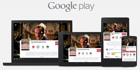 Google Play con Material Design