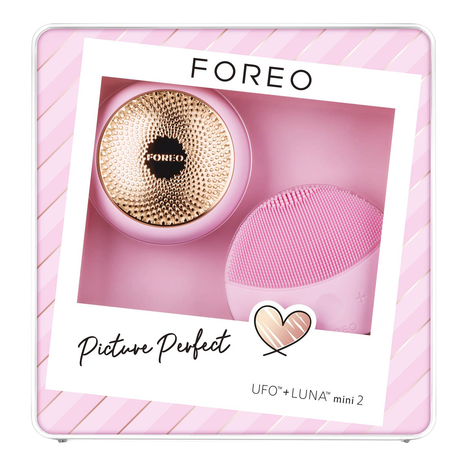 Set de Regalo Picture Perfect: UFO + LUNA mini 2 de Foreo