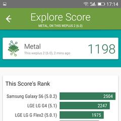 Foto 2 de 14 de la galería benchmarks-weimei-weplus-2 en Xataka Android